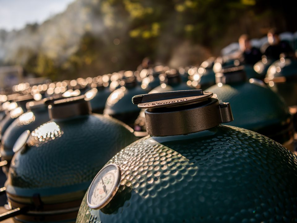 big green egg keuzestress